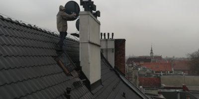 Kolejny raz przeprowadzamy montaż anteny satelitarnej na Śląsku