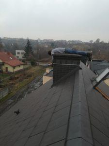 Ciekawy montaż anteny sat przez AntenySlask24.pl