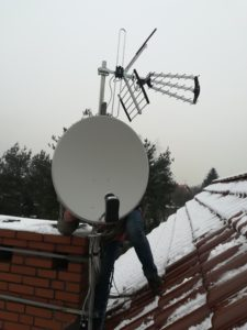 Ustawienie anteny satelitarnej i telewizyjnej przez AntenySlask24.pl