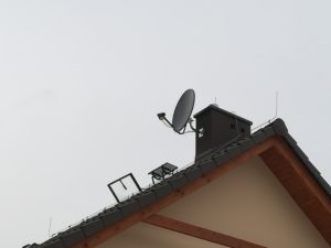 Następna antena satelitarna Serwisu Anten Satelitarnych