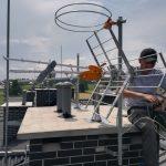 Montaż anteny naziemnej DVB-T w Katowicach