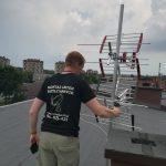 Montaż anteny naziemnej w Siemianowicach Ślaskich