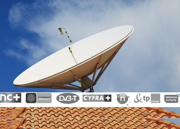 jaką antenę satelitarną wybrać + montaż i ustawienie sat na Śląsku, Katowice, Jaworzno, Mysłowice