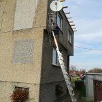 Montaż 2 anten sat/dvb-t w Gliwicach
