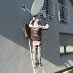 Dwie anteny w Bieruniu