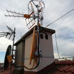 Trzy anteny Televes  w Katowicach