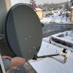 montaż i ustawienie anteny sat na balkonie