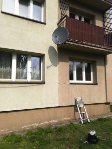 Montaż anteny do Balkonu w Katowicach