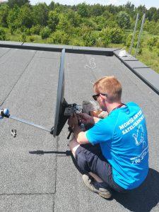Montaż anteny satelitarnej w Częstochowie