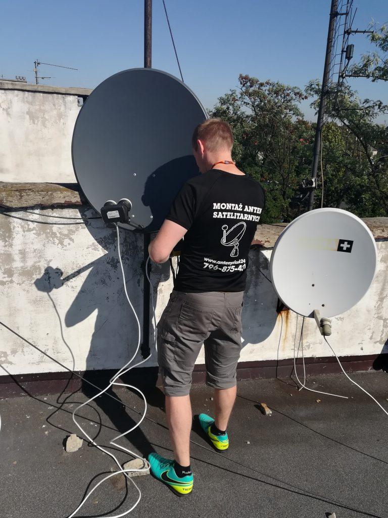 Montaż anteny Satelitarnej w Zabrzu